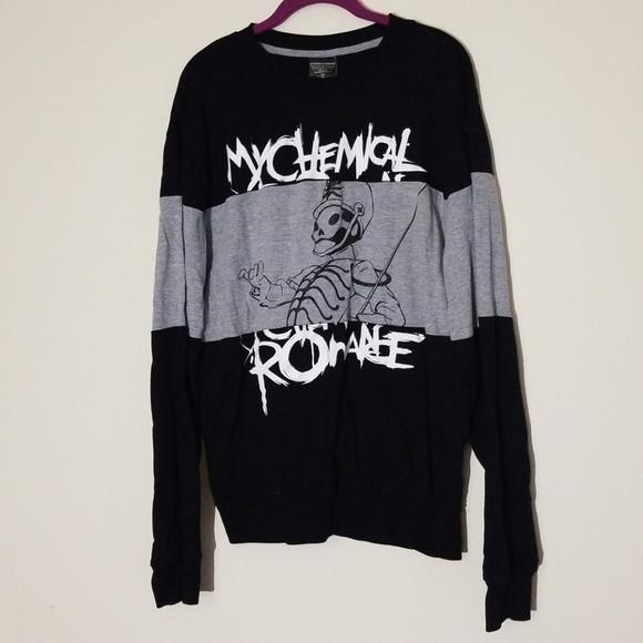 Hot Topic Sweaters My Chemical Romance Sweater Shirt Poshmark